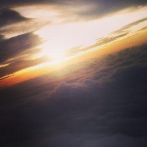 fliegen, über den wolken, reisen, leben