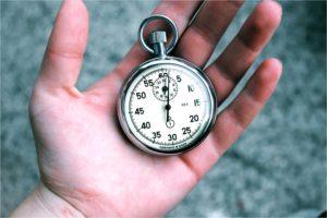 Druck Zeit Hand